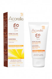 Crème Solaire Visage Bio SPF 50 - Acorelle