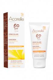 Organic Sun Cream SPF 50 - Acorelle