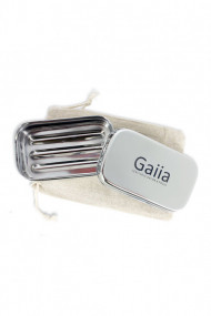 Travel soap box in stainless steel - Gaiia