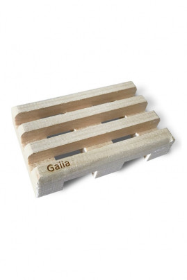 Soap holder in Solid Maple - Gaiia
