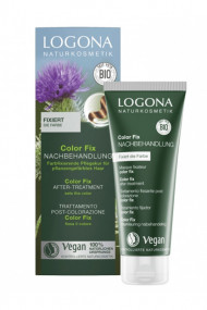 Preparing Hair Mask after Natural Hair Colour - Logona