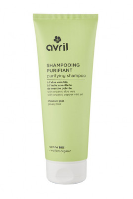 Organic Greasy Hair Shampoo - Avril