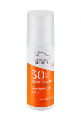 Crème Solaire Visage Bio - Algamaris - Laboratoires de Biarritz