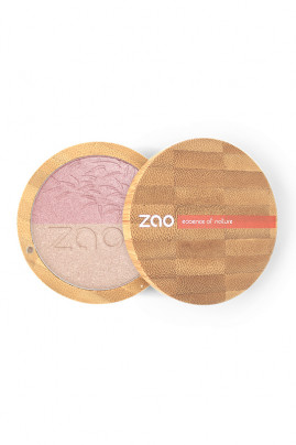 "Vegan Duo Highlighter ""Shine-up Powder"" - Zao"