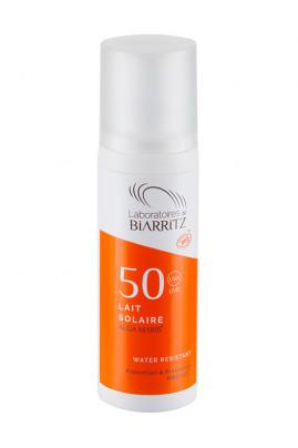 Lait Solaire Bio SPF50 - Algamaris - Laboratoires de Biarritz