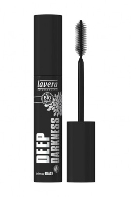"Vegan Mascara ""Deep Darkness"" - Intense Black - Lavera"