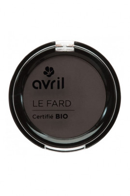 Fard à Sourcils Bio Châtain Clair - Avril