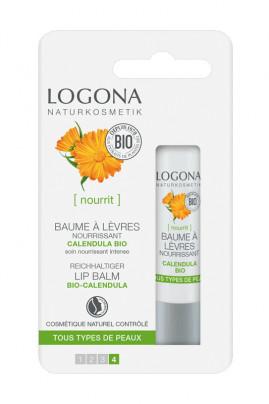 Nourishing Lips Balm with Organic Calendula - Logona