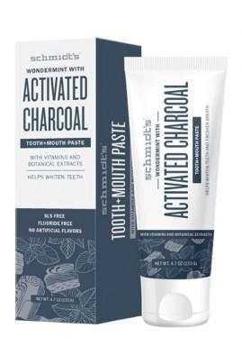 Vegan Charcoal Toothpaste - Schmidt's