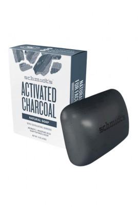 Vegan Soap - Activated Charcoal - Schmidt's