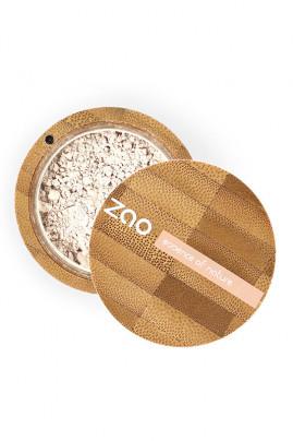 """Poudre Minérale Matifiante Bio & Vegan """"Mineral Silk"""" Zao"""