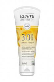 Crème Solaire Sensitive FPS 30 Haute Protection - Lavera