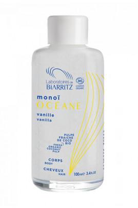 Organic Vanilla from the Islands Monoï - Océane - Laboratoires de Biarritz
