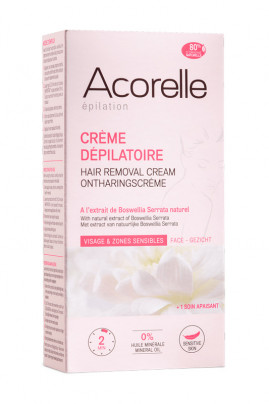 Hair Removal Cream for Face and Sensitive Zones Acorelle