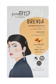 Dry Skin Organic Mask - Brenda - Purobio
