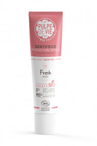 Organic Protective Toothpaste - Fresh Kiss - Pulpe de Vie