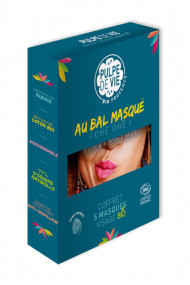 Box 5 Organic Cloth Masks - Au Bal Masqué - Pulpe de Vie