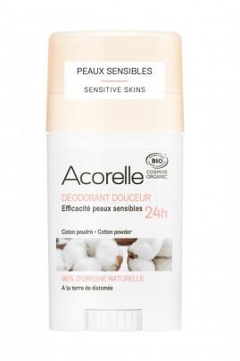 Organic Cotton Powdered Softness Deodorant - Acorelle