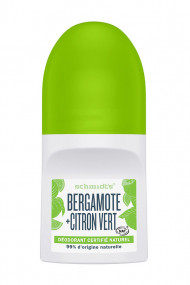 Vegan Roll-On Deodorant - Bergamot & Lime - Schmidt's