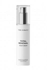 Organic Time miracle Total Renewal Night Cream - Mádara