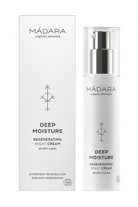 Crème Nuit Régénérante Bio Deep Moisture - Mádara