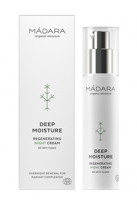 Organic Deep Moisture Regenerating Night Cream - Mádara