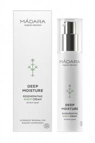 Organic Deep Moisture Regenerating Night Cream - Mádara