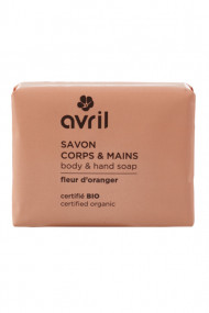 Organic Orange Blossom Soap - Avril