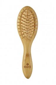 Brosse à Cheveux en Bambou - Avril