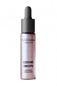 "Liquid Highlighter Organic & Vegan ""Cosmic Drops"" - Mádara"