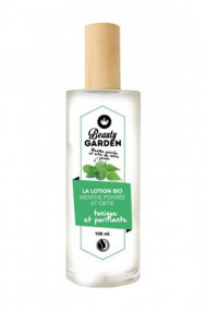 Organic Peppermint & Nettle Lotion - Beauty Garden