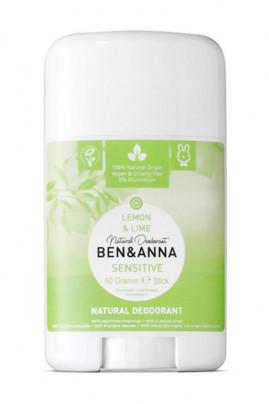 Natural Deodorant - Lemon - Ben & Anna