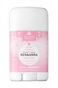 Natural Sensitive Skin Deodorant Stick - Cherry blossom - Ben & Anna