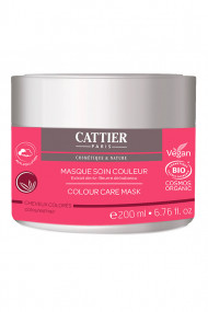 Organic Color Care Mask - Colored Hair - Cattier