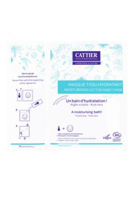 Organic Moisturising Cotton Sheet Mask - Cattier