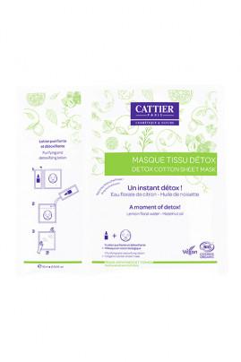 Masque Tissu Détox Bio - Cattier