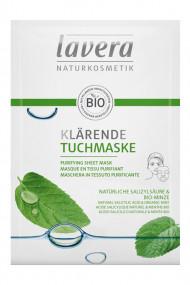 Masque en Tissu Purifiant Vegan - Lavera