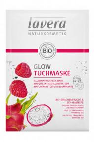Masque en Tissu Illuminateur Vegan - Lavera