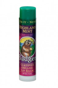 Mountains Mint Lip Balm - Badger