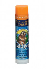 Tangerine Breeze Lip Balm - Badger