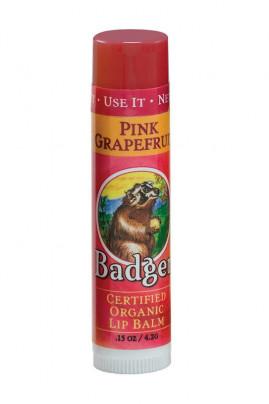 Pink Grapefruit Lip Balm - Badger