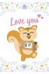 Carte de vœux : AyaNature - Carte de vœux - Love you