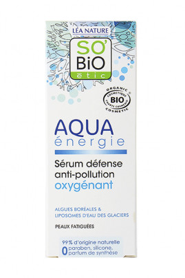 Organic Defense Anti-Pollution Serum - Aqua Energie - SO'BiO étic