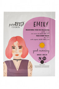 Vegan Emily Fabric Mask - Dry Skin - Purobio