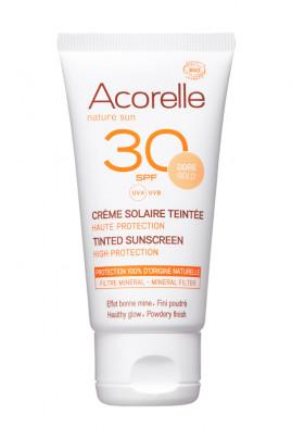 Organic Tinted Sunscreen - SPF 30 High Protection - Acorelle