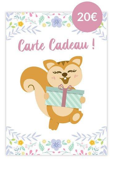 Carte Cadeau Ayanature - 20€