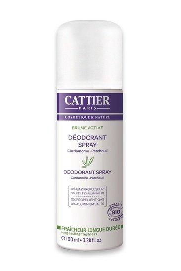 Déodorant Spray Bio Brume Active Cattier