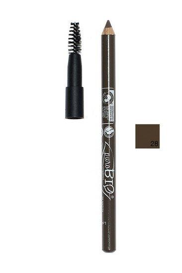 Crayon Sourcils Bio Vegan avec Brosse 07 Moyen - Purobio