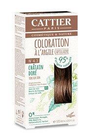 Coloration Capillaire à l'Argile - Cattier