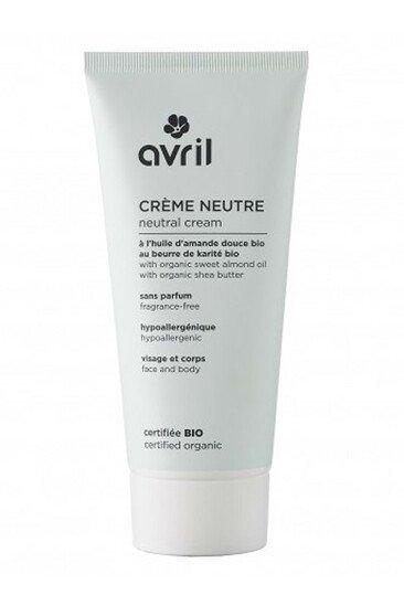 Crème Neutre Bio - Avril